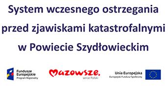 System wczesnego ostrzegania przed zjawiskami katastrofalnymi w Powiecie Szydłowieckim